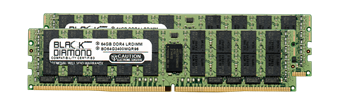 Picture of 128GB Kit (2x64GB) LRDIMM DDR4 2400 ECC Registered Memory 288-pin  (4Rx4)
