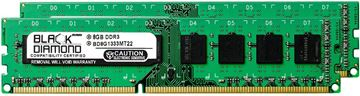 Picture of 16GB Kit (2x8GB) DDR3 1333 (PC3-10600) Memory 240-pin (2Rx8)