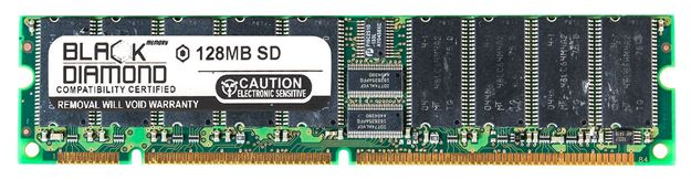 Picture of 128MB SDRAM PC133 ECC Memory 168-pin (1Rx8)