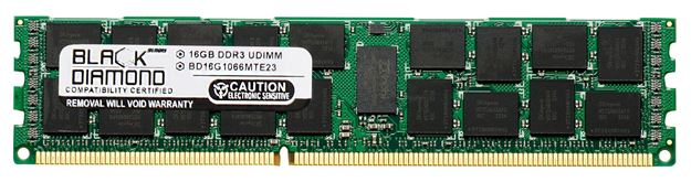 Picture of 16GB DDR3 1066 (PC3-8500) ECC Registered Memory 240-pin (4Rx4)