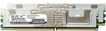 Picture of 16GB Kit (2x8GB) DDR2 533 (PC2-4200) Fully Buffered Memory 240-pin (2Rx8)