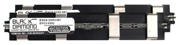 Picture of 16GB Kit (2x8GB) DDR2 667 (PC2-5300) Apple Fully Buffered Memory 240-pin (2Rx4)