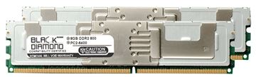 Picture of 16GB Kit (2x8GB) DDR2 800 (PC2-6400) Fully Buffered Memory 240-pin (2Rx4)