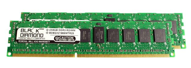Picture of 16GB Kit (2x8GB) DDR3 1866 (PC3-14900) ECC Registered Memory 240-pin (2Rx4)