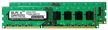 Picture of 16GB Kit (2x8GB) DDR3 1866 (PC3-14900) Memory 240-pin (2Rx8)
