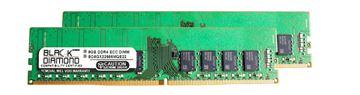 Picture of 16GB Kit (2x8GB) DDR4 2666 ECC Memory 288-pin (2Rx8)