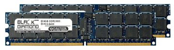 Picture of 16GB Kit(2x8GB) DDR2 800 (PC2-6400) ECC Registered Memory 240-pin (2Rx4)