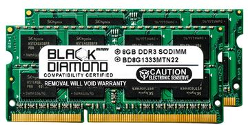 Picture of 16GB Kit(2X8GB) DDR3 1333 (PC3-10600) SODIMM Memory 204-pin (2Rx8)