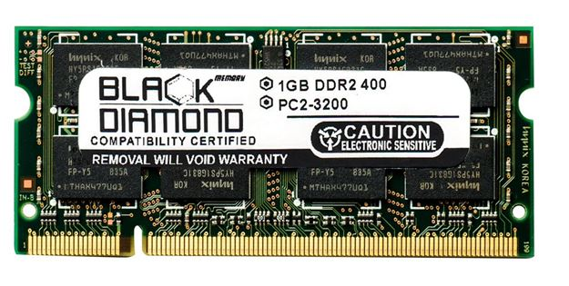 Picture of 1GB DDR2 400 (PC2-3200) SODIMM Memory 200-pin (1Rx8)