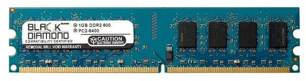 Picture of 1GB DDR2 800 (PC2-6400) Memory 240-pin (1Rx8)