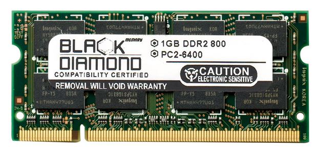 Picture of 1GB DDR2 800 (PC2-6400) SODIMM Memory 200-pin (2Rx8)