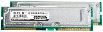 Picture of 1GB Kit(2X512MB) Rambus PC1066 ECC Memory 184-pin