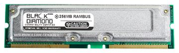 Picture of 256MB Rambus PC800 45ns ECC Memory 184-pin