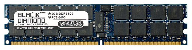 Picture of 2GB DDR2 533 (PC2-4200) ECC Registered Memory 240-pin (2Rx4)