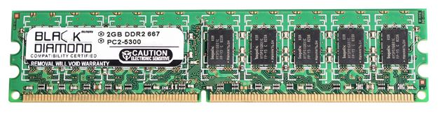 Picture of 2GB DDR2 667 (PC2-5300) ECC Memory 240-pin (2Rx8)