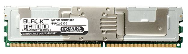 Picture of 2GB DDR2 667 (PC2-5300) Fully Buffered Memory 240-pin (2Rx4)