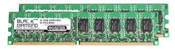 Picture of 2GB Kit (2x1GB) DDR2 800 (PC2-6400) ECC Memory 240-pin (2Rx8)