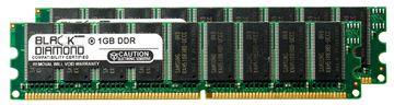 Picture of 2GB Kit(2X1GB) DDR 333 (PC-2700) ECC Memory 184-pin (2Rx8)