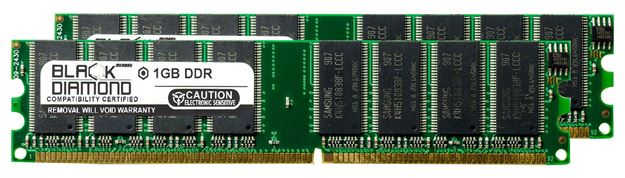 Picture of 2GB Kit(2X1GB) DDR 333 (PC-2700) Memory 184-pin