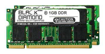 Picture of 2GB Kit(2X1GB) DDR 400 (PC-3200) SODIMM Memory 200-pin (2Rx8)