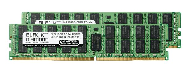 Picture of 32GB Kit (2x16GB) DDR4 2133 ECC Registered Memory 288-pin (2Rx4)