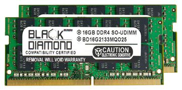 Picture of 32GB Kit (2x16GB) DDR4 2133 ECC SODIMM Memory 260-pin (2Rx8)