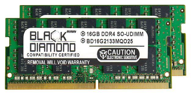 Picture of 32GB Kit (2x16GB) DDR4 2133 ECC SODIMM Memory 260-pin (2Rx8)
