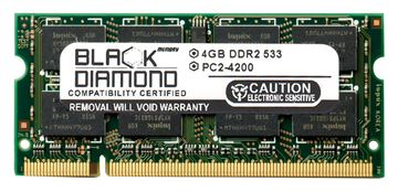 Picture of 4GB DDR2 533 (PC2-4200) SODIMM Memory 200-pin (2Rx8)