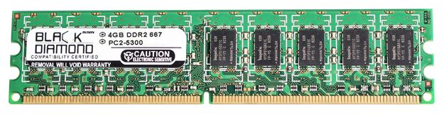 Picture of 4GB DDR2 667 (PC2-5300) ECC Memory 240-pin (2Rx8)