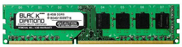 Picture of 4GB DDR3 1333 (PC3-10600) Memory 240-pin (2Rx8)
