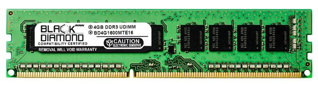Picture of 4GB DDR3 1600 (PC3-12800) ECC Memory 240-pin (2Rx8)