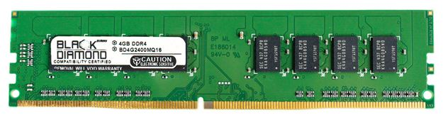 Picture of 4GB DDR4 2400 Memory 288-pin (2Rx8)