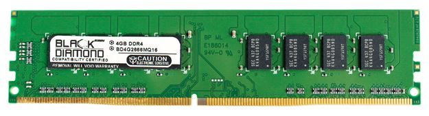 Picture of 4GB DDR4 2666 Memory 288-pin (2Rx8)