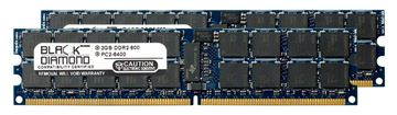 Picture of 4GB Kit (2x2GB) DDR2 800 (PC2-6400) ECC Registered Memory 240-pin (2Rx4)