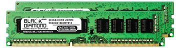 Picture of 4GB Kit (2x2GB) DDR3 1600 (PC3-12800) ECC Memory 240-pin (2Rx8)