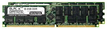 Picture of 4GB Kit(2X2GB) DDR 333 (PC-2700) ECC Registered Memory 184-pin (2Rx4)