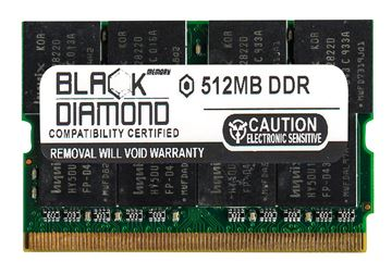 Picture of 512MB DDR 333 (PC-2700) Micro-Dimm Memory 172-pin (2Rx8)