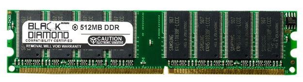 Picture of 512MB (2Rx8) DDR 400 (PC-3200) Memory 184-pin