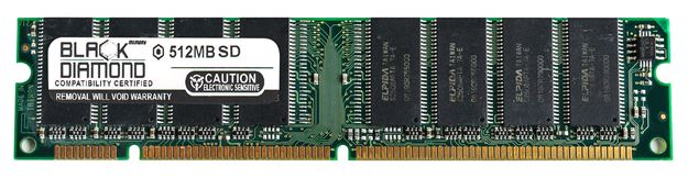 Picture of 512MB (2Rx8) SDRAM PC100 Memory 168-pin
