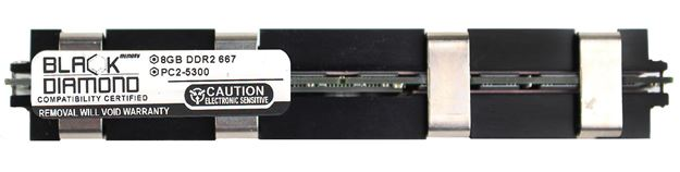 Picture of 8GB (2Rx4) DDR2 667 (PC2-5300) Apple Fully Buffered Memory 240-pin