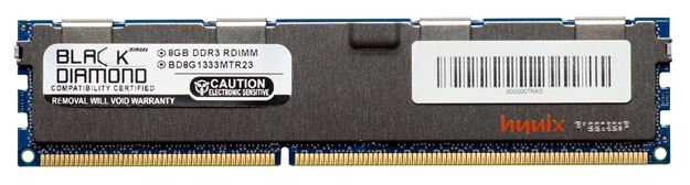 Picture of 8GB DDR3 1333 (PC3-10600) ECC Registered Memory 240-pin (2Rx4)