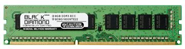 Picture of 8GB (2Rx8) DDR3 1600 (PC3-12800) ECC Memory 240-pin