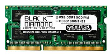 Picture of 8GB (2Rx8) DDR3 1866 (PC3-14900) SODIMM Memory 204-pin