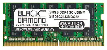 Picture of 8GB (2Rx8) DDR4 2133 ECC SODIMM Memory 260-pin