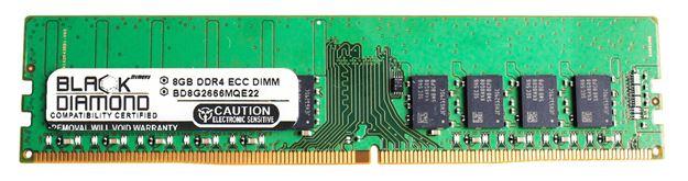 Picture of 8GB DDR4 2666 ECC Memory 288-pin (2Rx8)