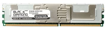 Picture of 8GB DDR2 533 (PC2-4200) Fully Buffered Memory 240-pin (2Rx4)