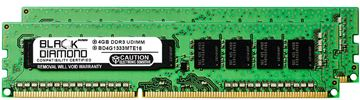 Picture of 8GB Kit(2x4GB) DDR3 1333 (PC3-10600) ECC Memory 240-pin (2Rx8)
