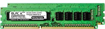 Picture of 8GB Kit(2x4GB) DDR3 1866 (PC3-14900) ECC Memory 240-pin (2Rx8)