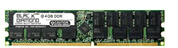 Picture of 4GB DDR 333 (PC-2700) ECC Registered Memory 184-pin (2Rx4)