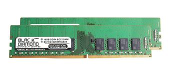 Picture of 32GB (2x16GB) DDR4 2666 ECC Memory 288-pin (2Rx8)